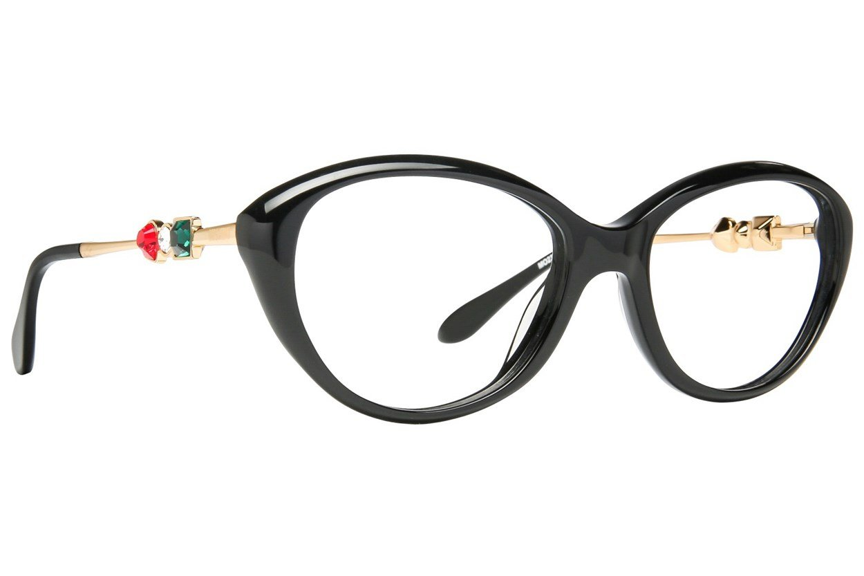 Moschino MO233V Black Glasses
