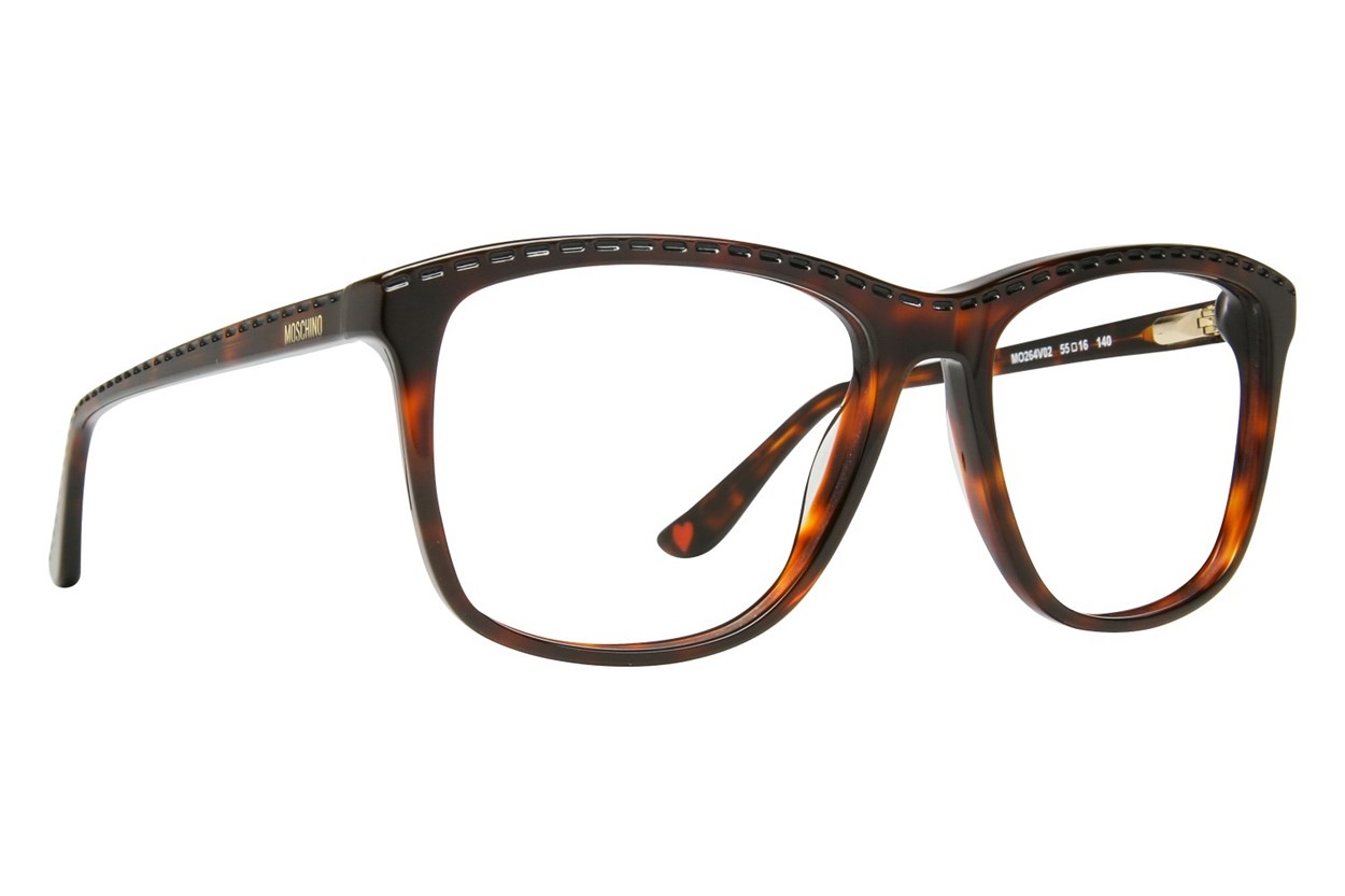 Moschino MO264V Tortoise Glasses