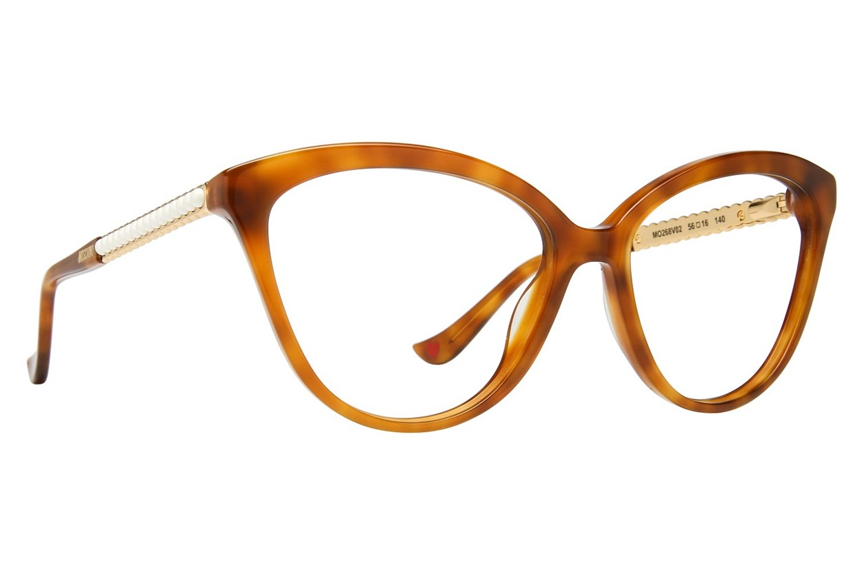 Moschino MO268V Tortoise Glasses