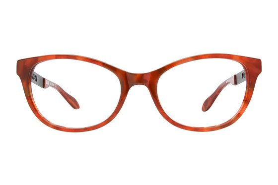 Moschino MO288V Red Glasses