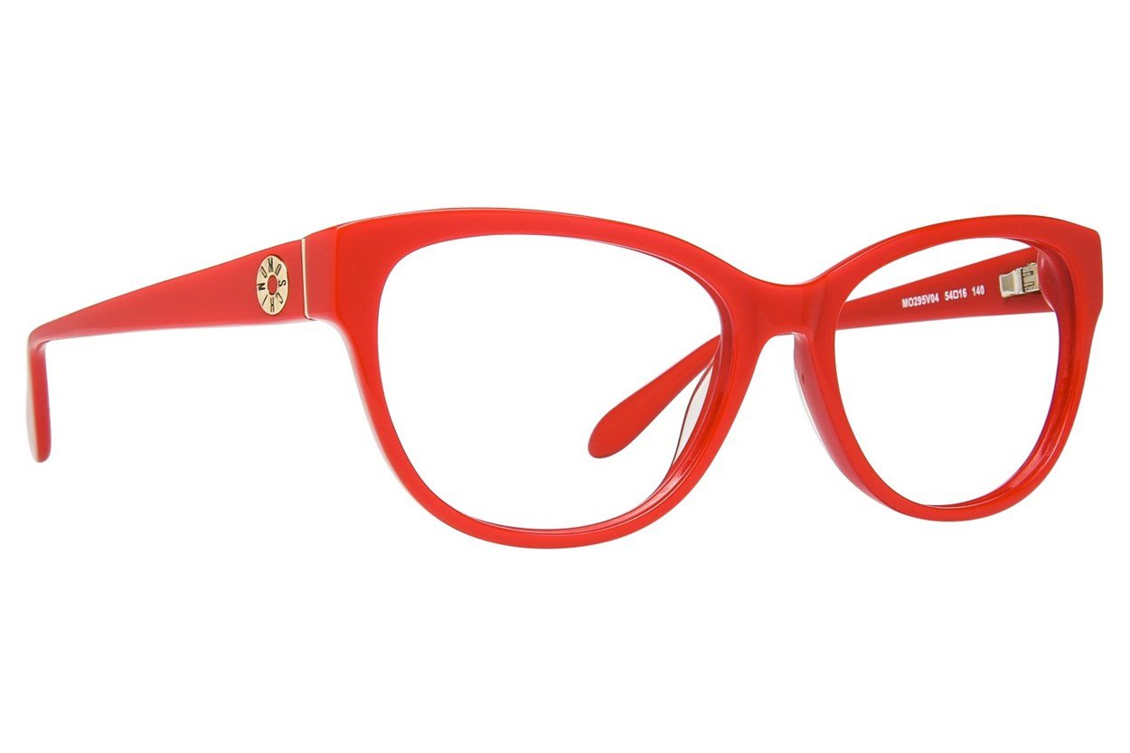 Moschino MO295V Red Glasses