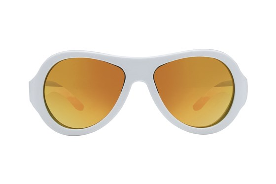 Babiators Polarized White Sunglasses