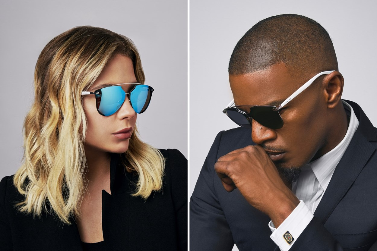 Alternate Image 2 - Prive Revaux The Benz Silver Sunglasses