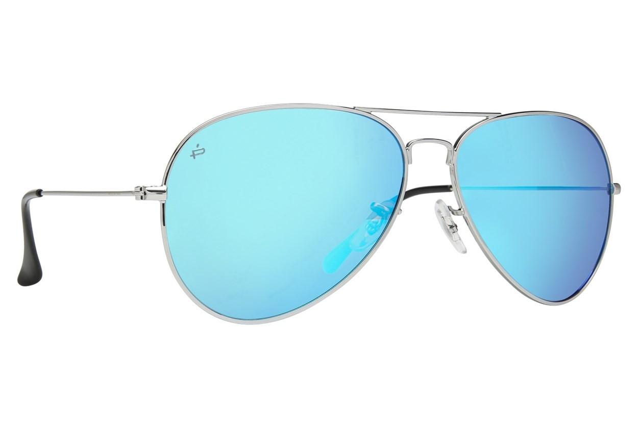 Prive Revaux The Commando Silver Sunglasses