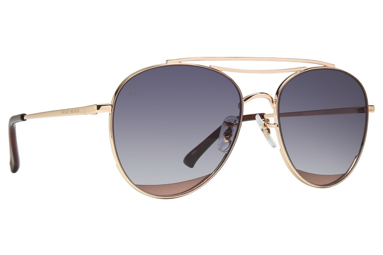 Prive Revaux The Dave O Sunglasses - Gold