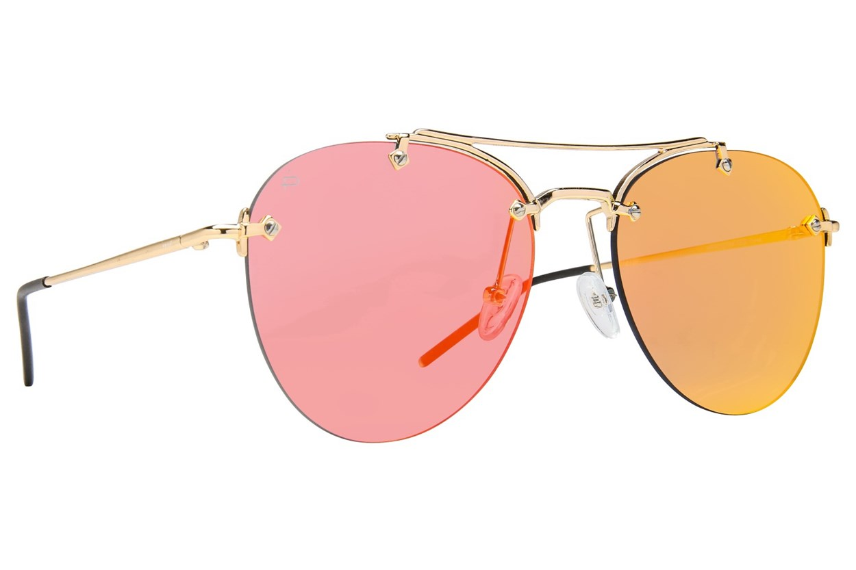Prive Revaux The Dutchess Gold Sunglasses