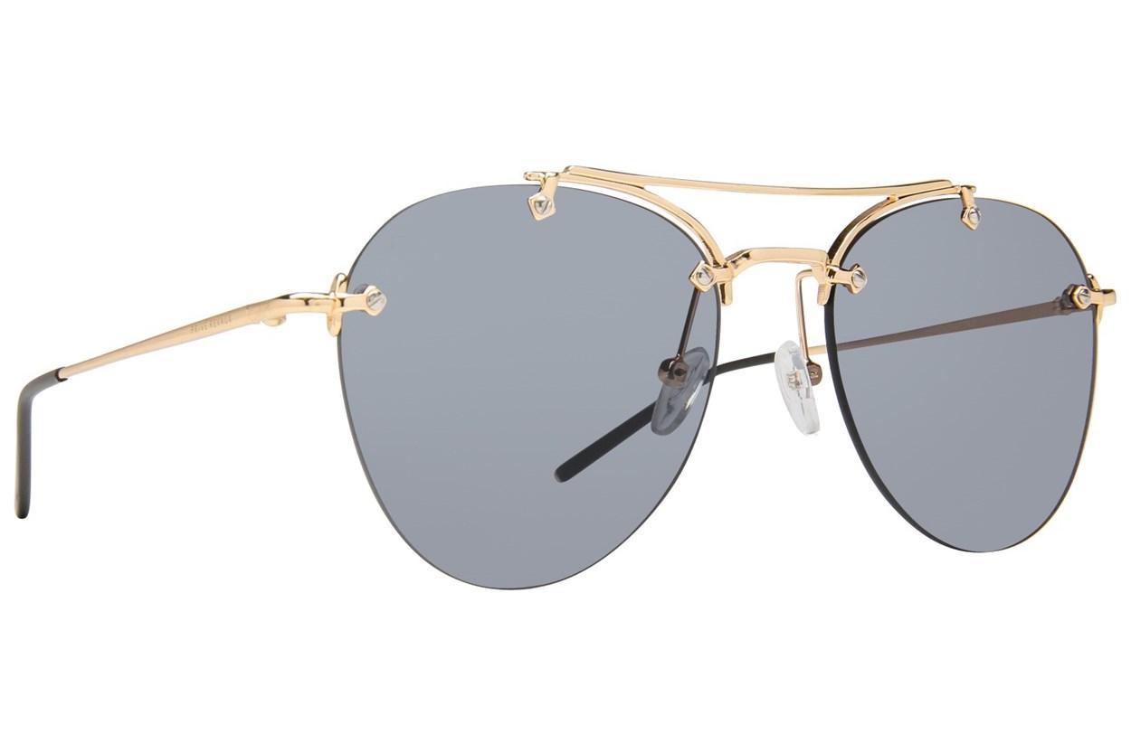 Prive Revaux The Dutchess Gold Sunglasses