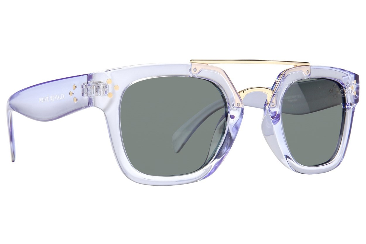 Prive Revaux The Foxx Clear Sunglasses