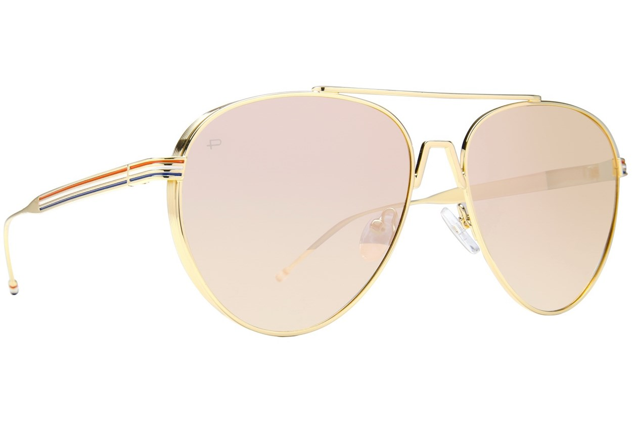 Prive Revaux The GOAT Gold Sunglasses