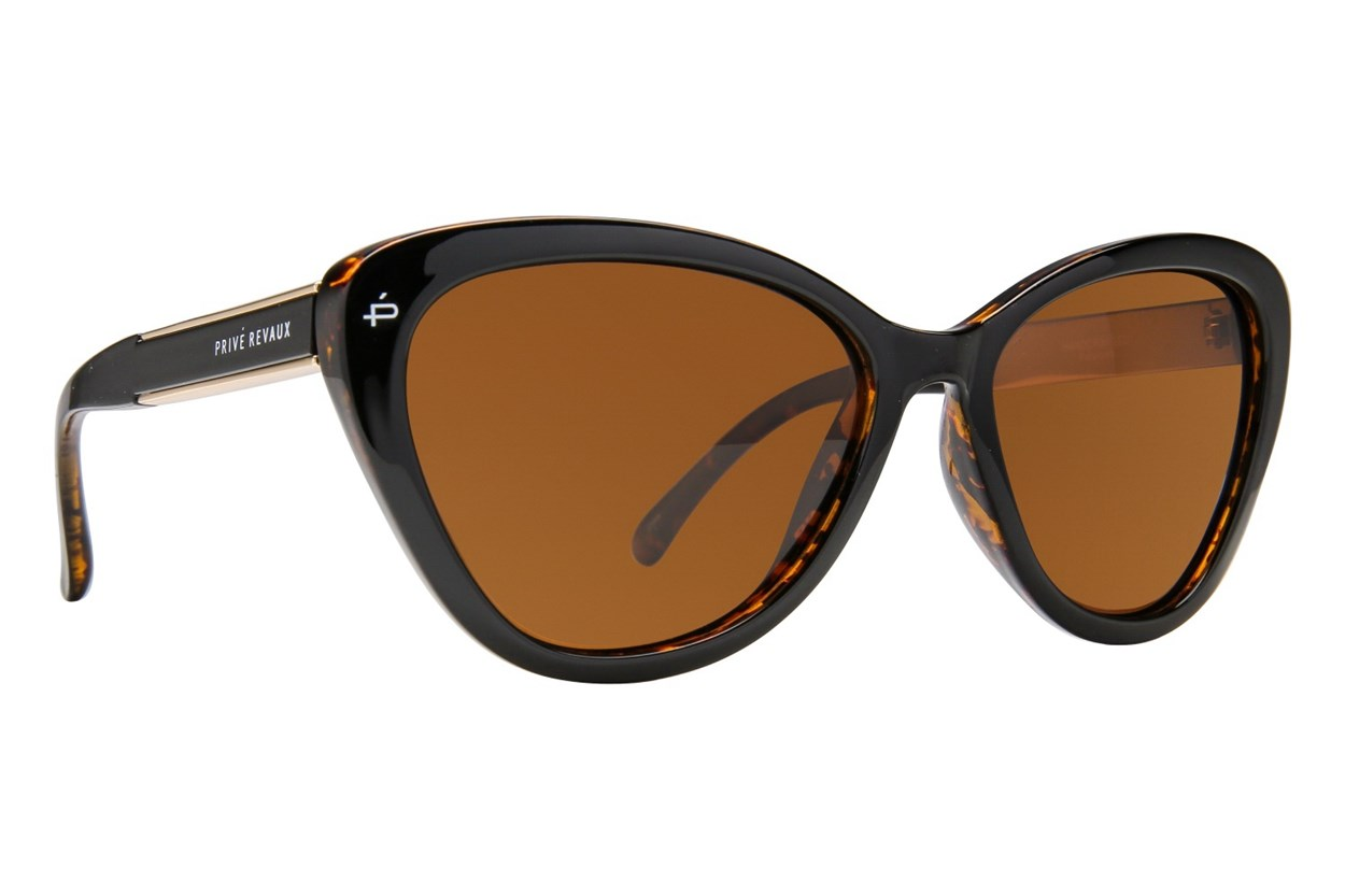 Prive Revaux The Hepburn Brown Sunglasses