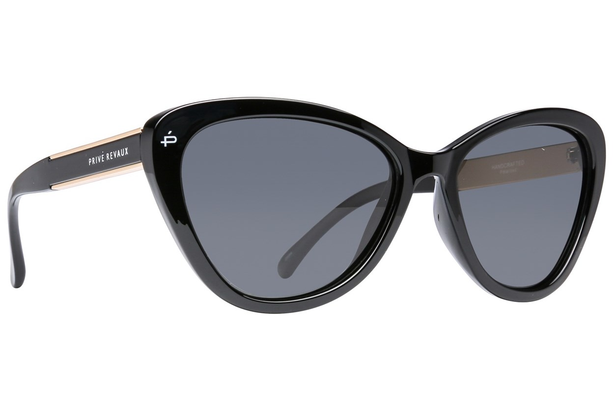 Prive Revaux The Hepburn Black Sunglasses