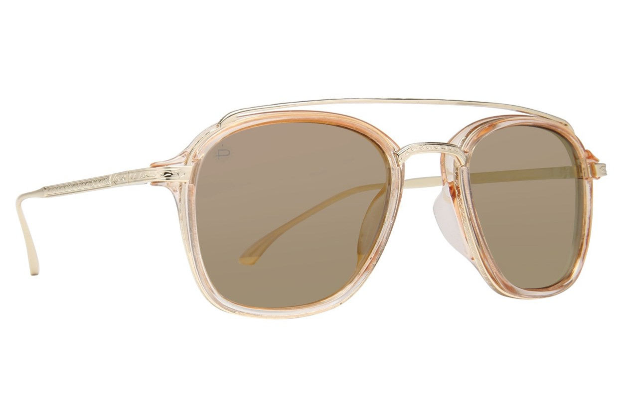 Prive Revaux The Jetsetter Gold Sunglasses