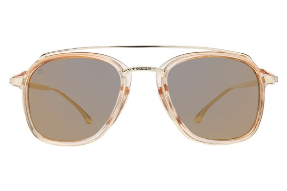 Prive Revaux The Jetsetter Gold Sunglasses