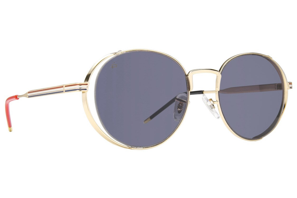 Prive Revaux The Riviera Gold Sunglasses