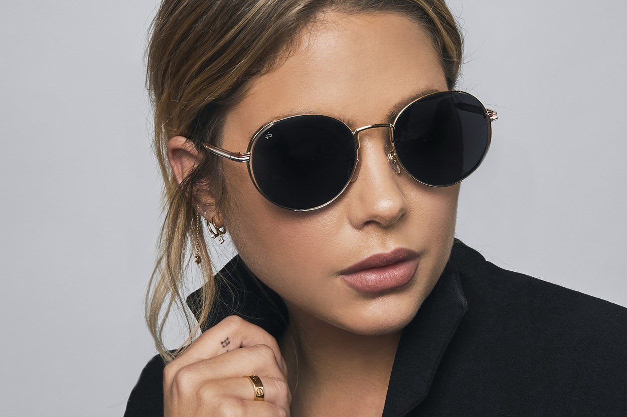 Alternate Image 2 - Prive Revaux The Riviera Gold Sunglasses