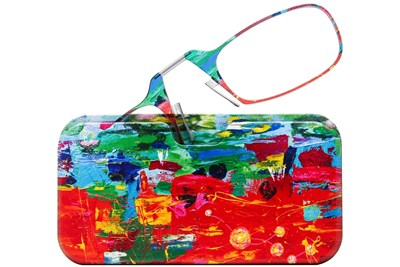 8c7414a4fee4 ThinOPTICS Reading Glasses with Universal Pod Case Bundle - Design Multi