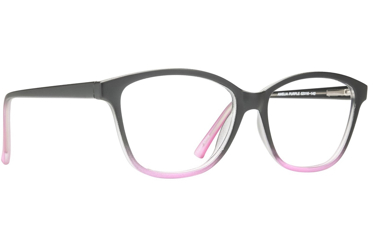 Affordable Designs Amelia Purple Glasses