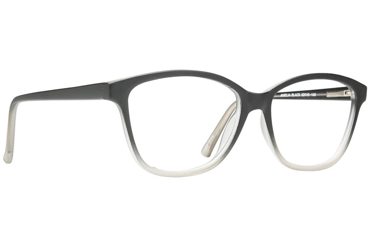Affordable Designs Amelia Black Glasses