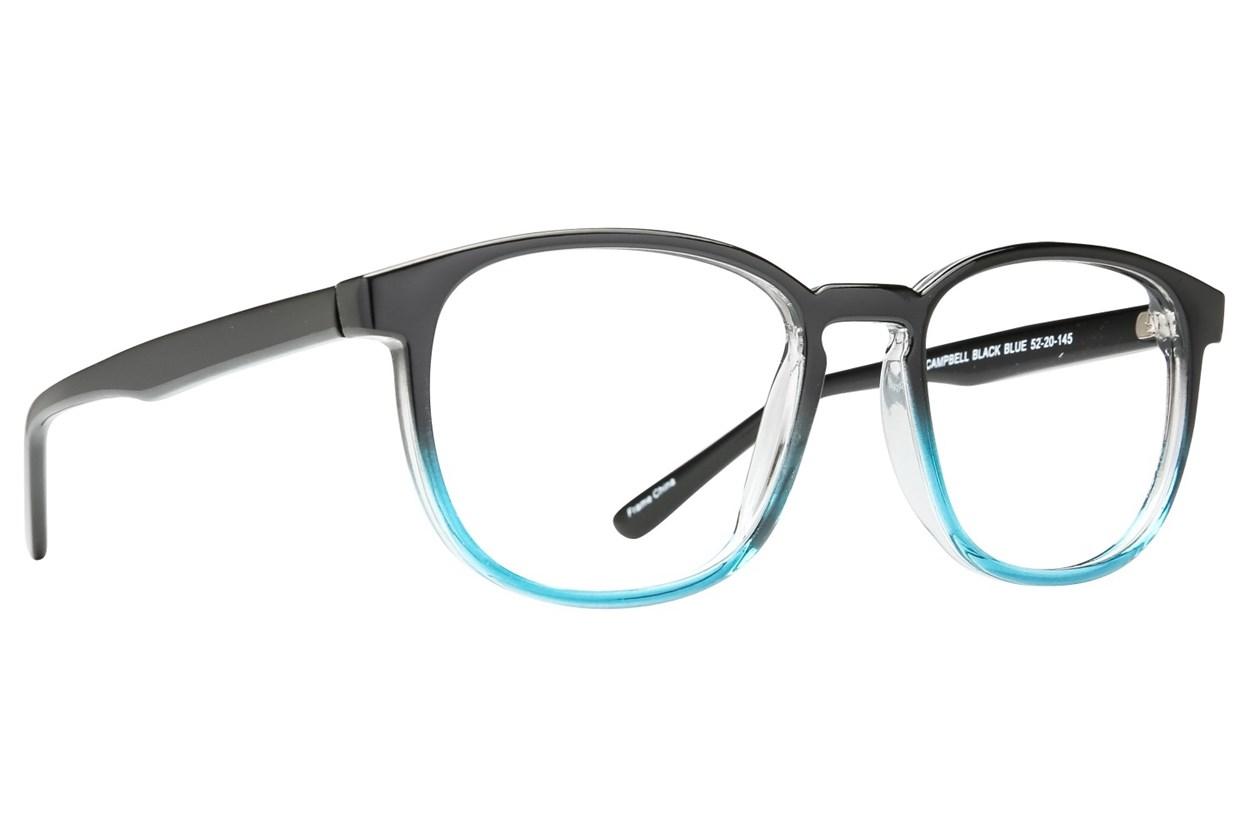 Affordable Designs Campbell Black Glasses