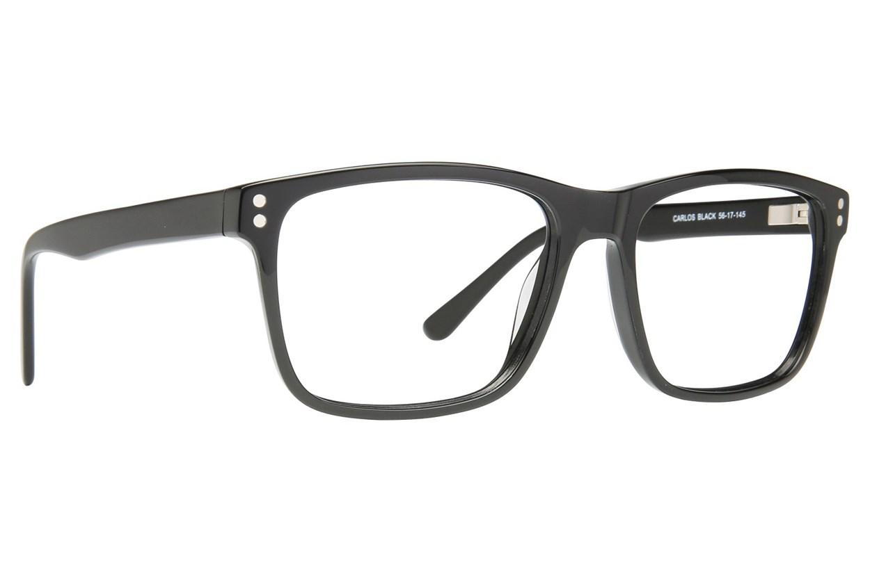 Eight To Eighty Eyewear Carlos Black Glasses