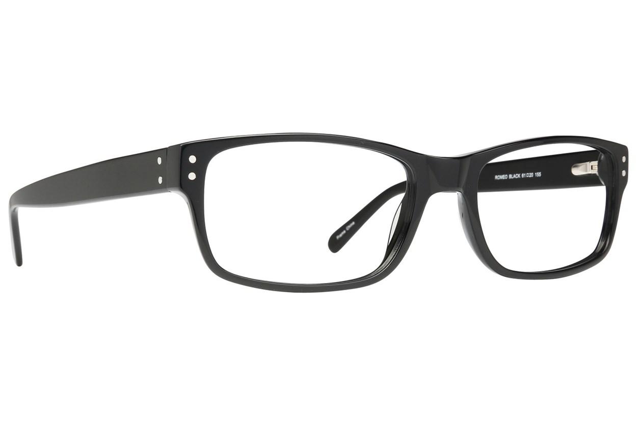 Maxx Eyewear Romeo Black Glasses