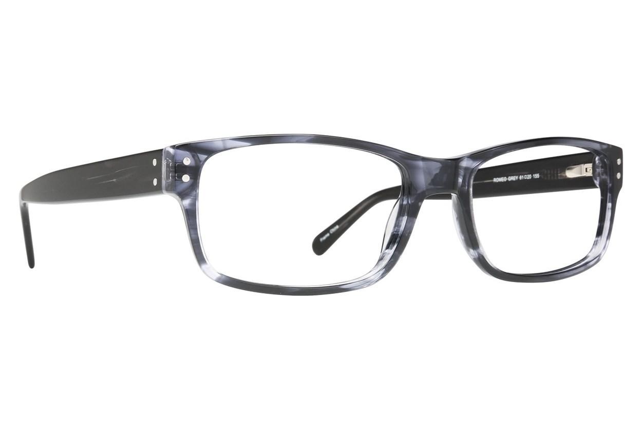Maxx Eyewear Romeo Gray Glasses