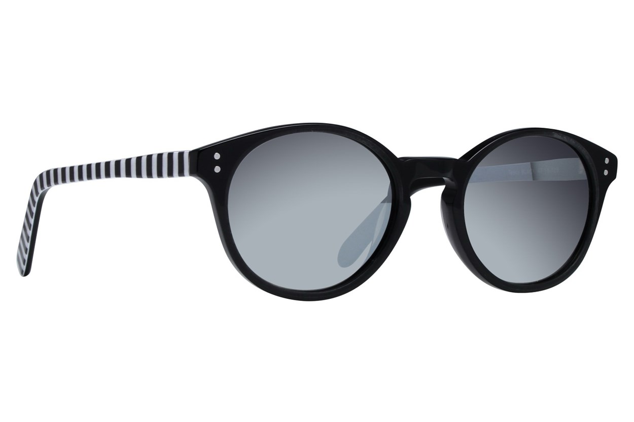 Picklez Teddy Black Sunglasses - Black