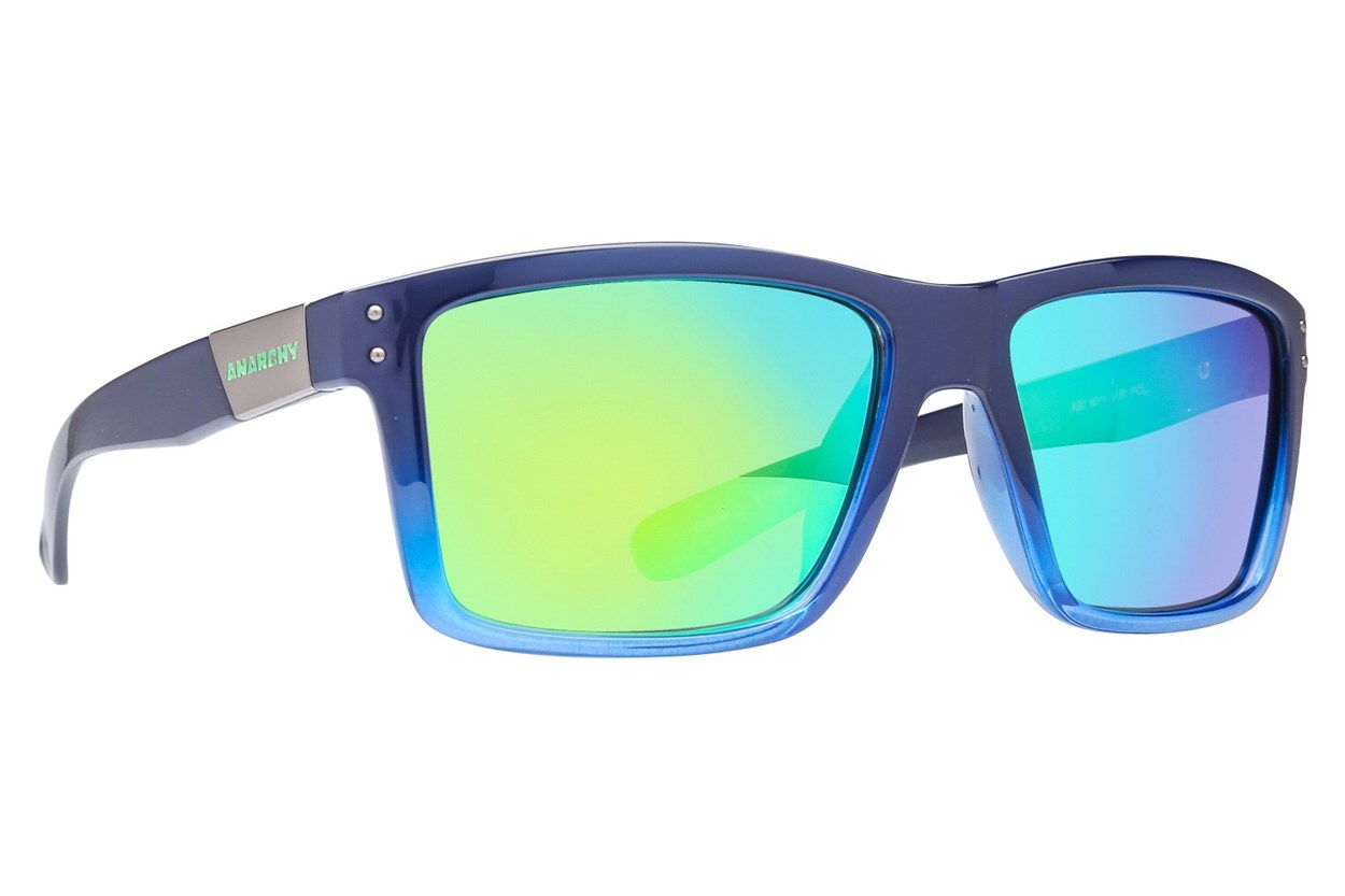 Anarchy Ari Polarized Blue Sunglasses