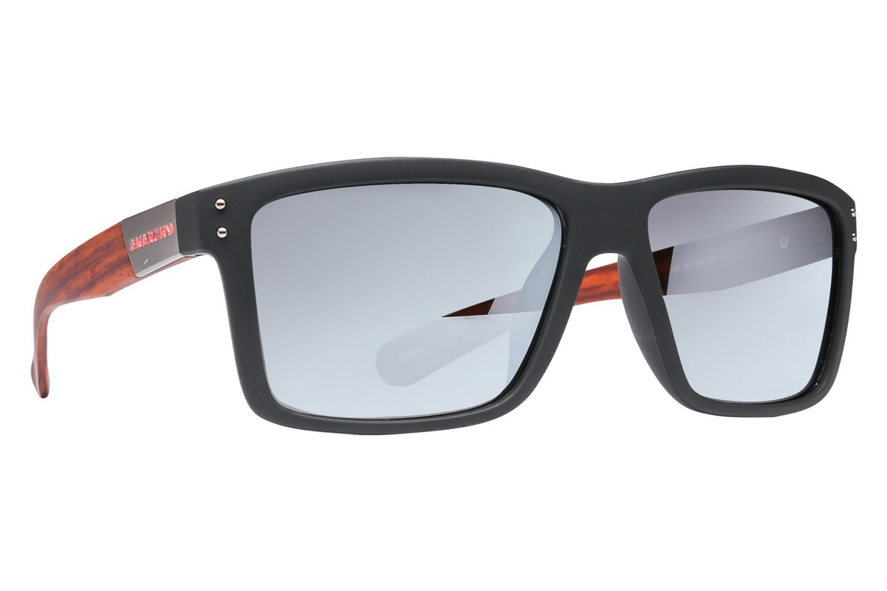 Anarchy Ari Polarized Black Sunglasses