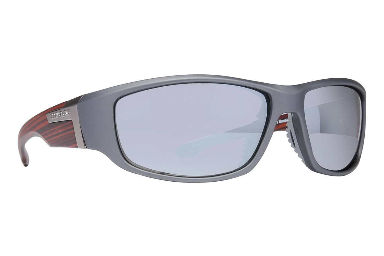 Body Glove Bombie Polarized Gray Sunglasses
