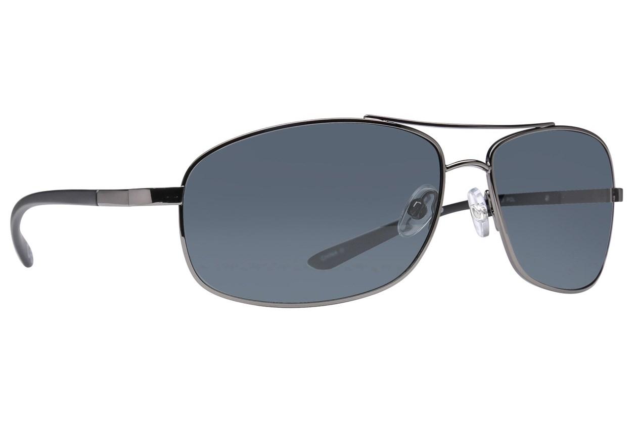 Body Glove Maui Polarized Silver Sunglasses