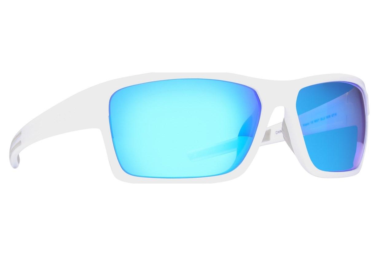 Body Glove Vapor 18 Polarized White Sunglasses