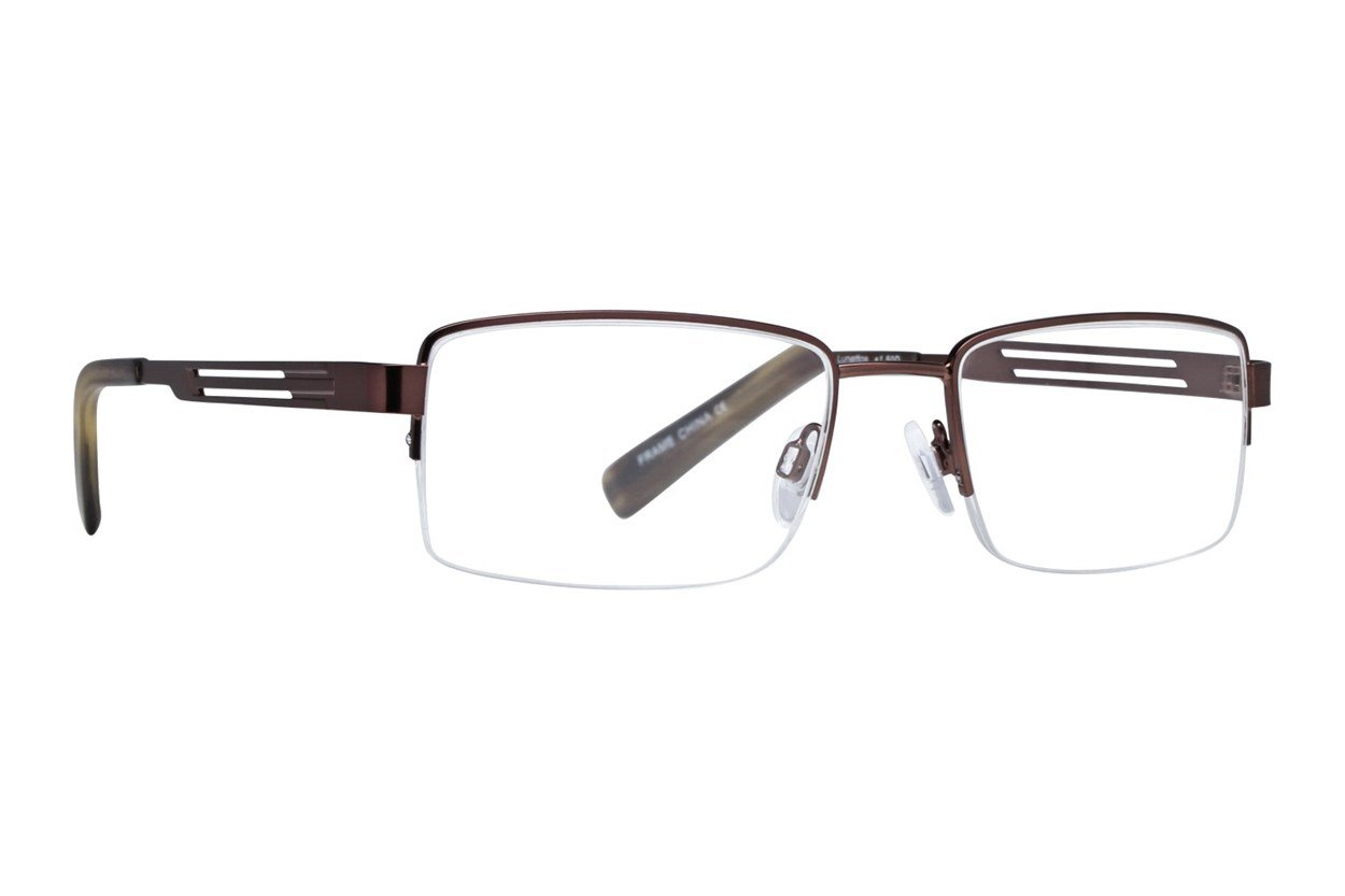 Lunettos Orion Reading Glasses Brown