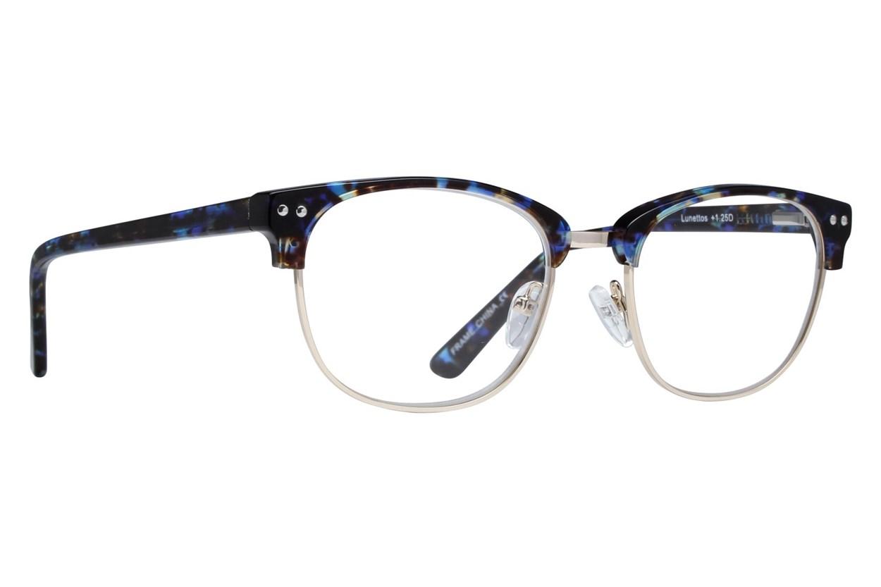 Lunettos Bellatrix Reading Glasses Blue