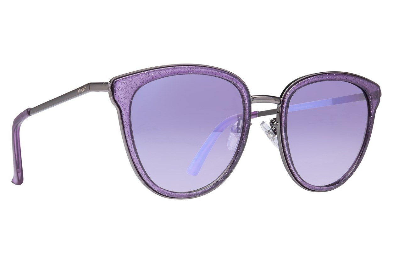 Angel Persephone Purple Sunglasses
