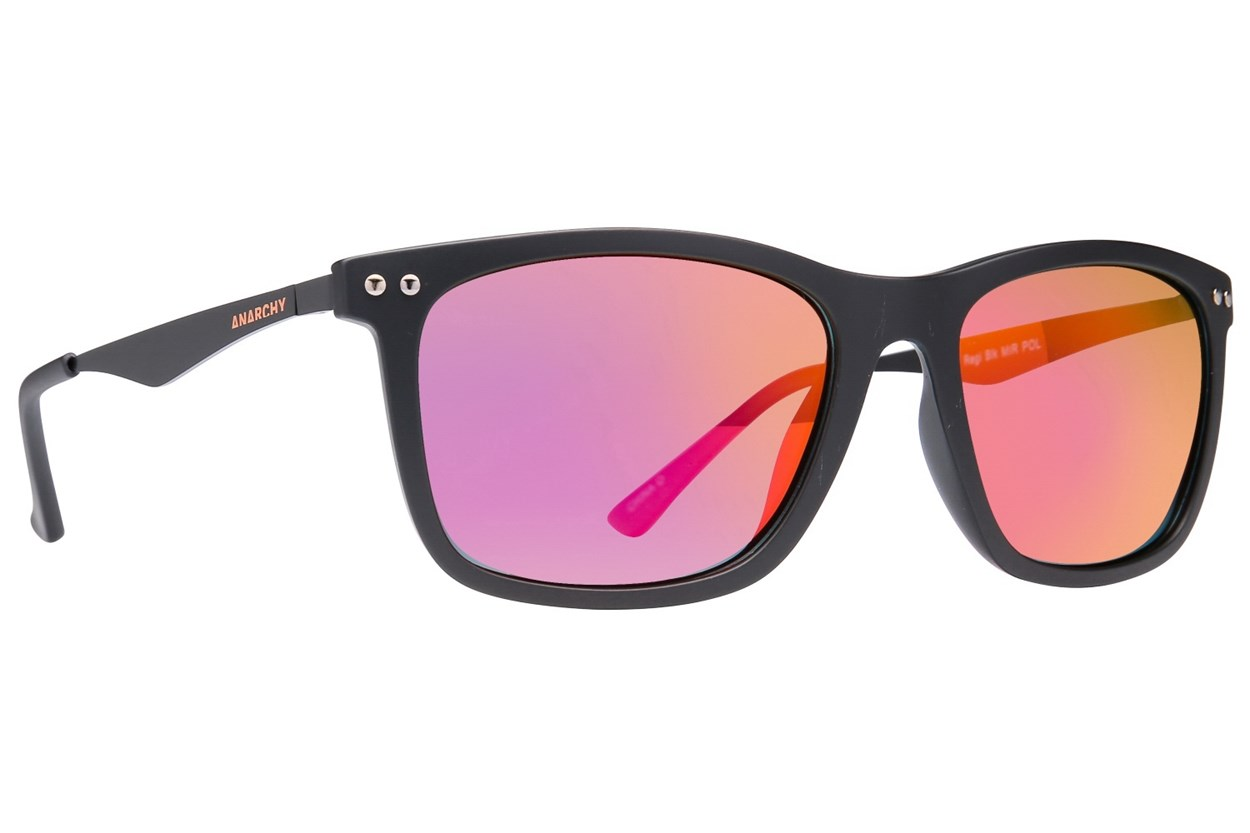 Anarchy Regi Polarized Sunglasses - Black