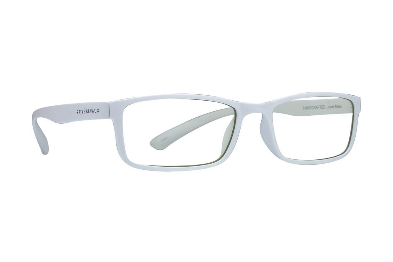 Prive Revaux The Confucius White Glasses