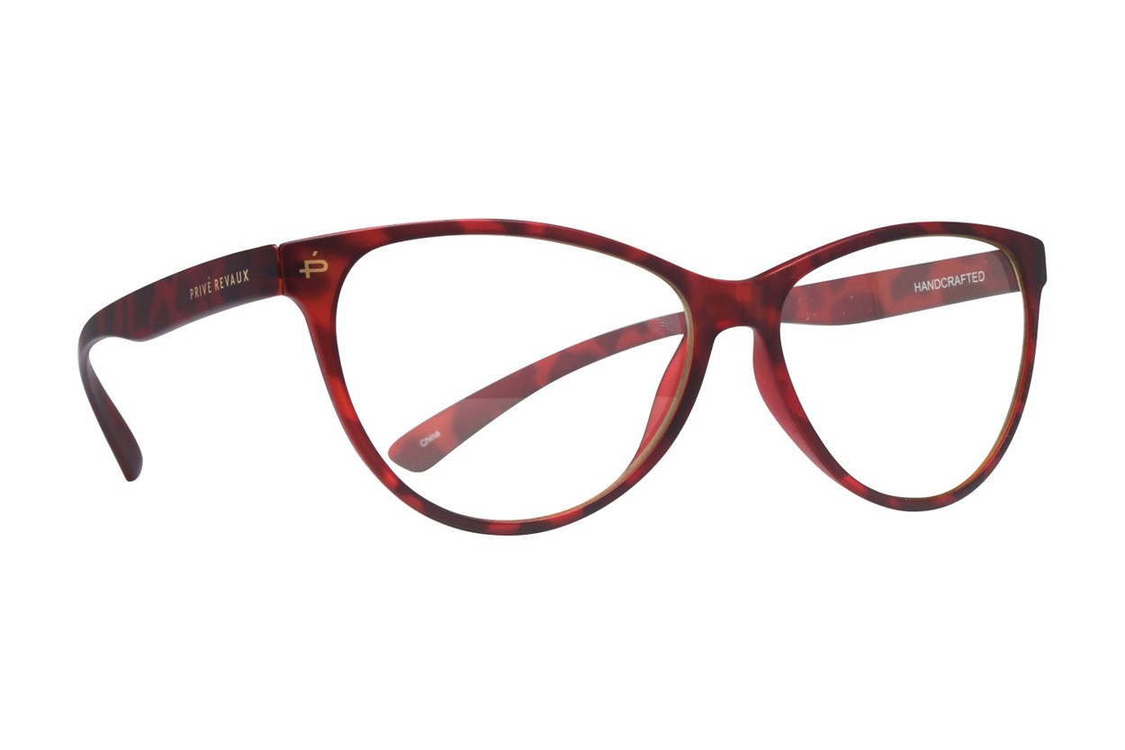 Prive Revaux The Thoreau Red Glasses