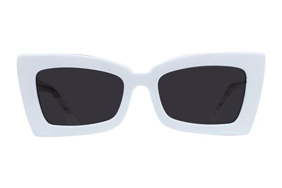 Westend Bexley White Sunglasses