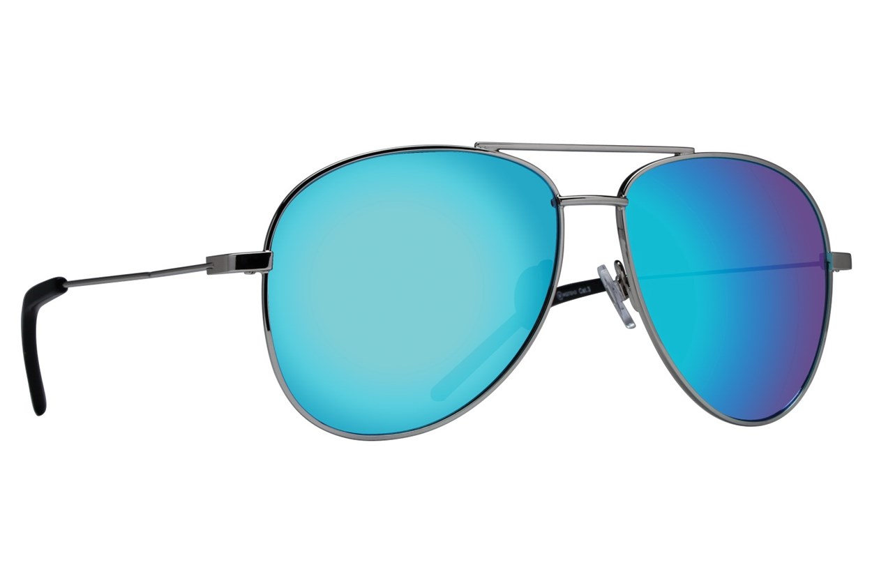 Westend Lewis Center Sunglasses - Silver