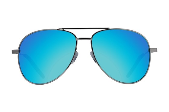 Westend Lewis Center Silver Sunglasses