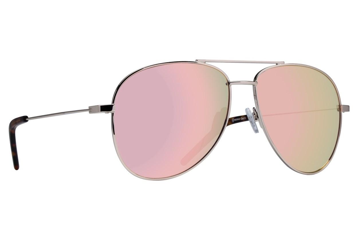Westend Lewis Center Gold Sunglasses
