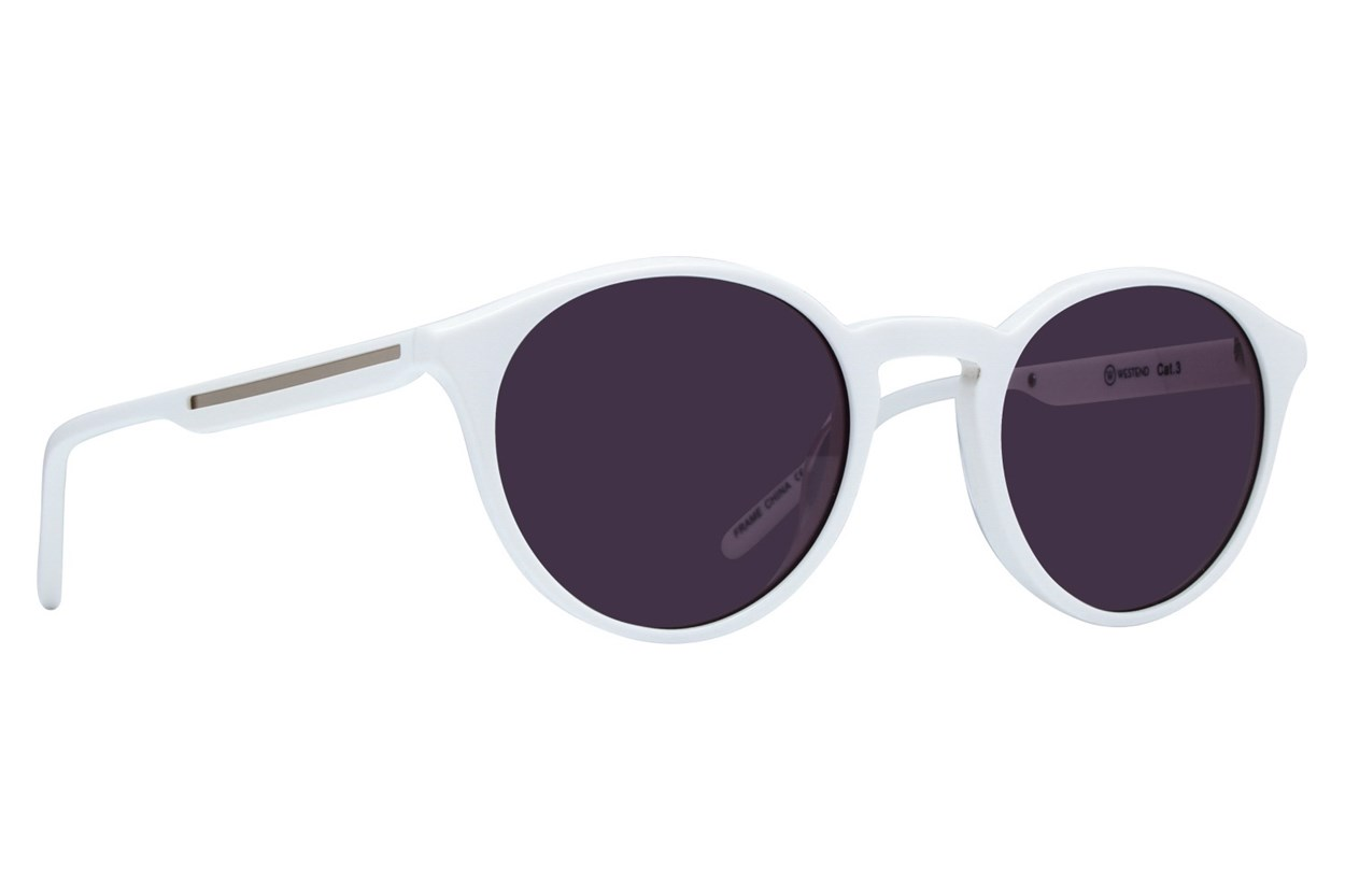 Westend Brookside Woods White Sunglasses