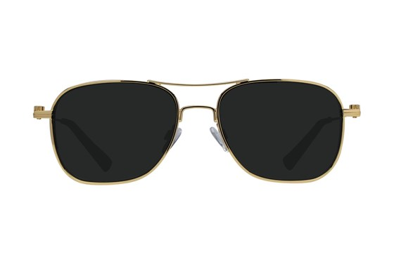 Westend Franklin Park Gold Sunglasses
