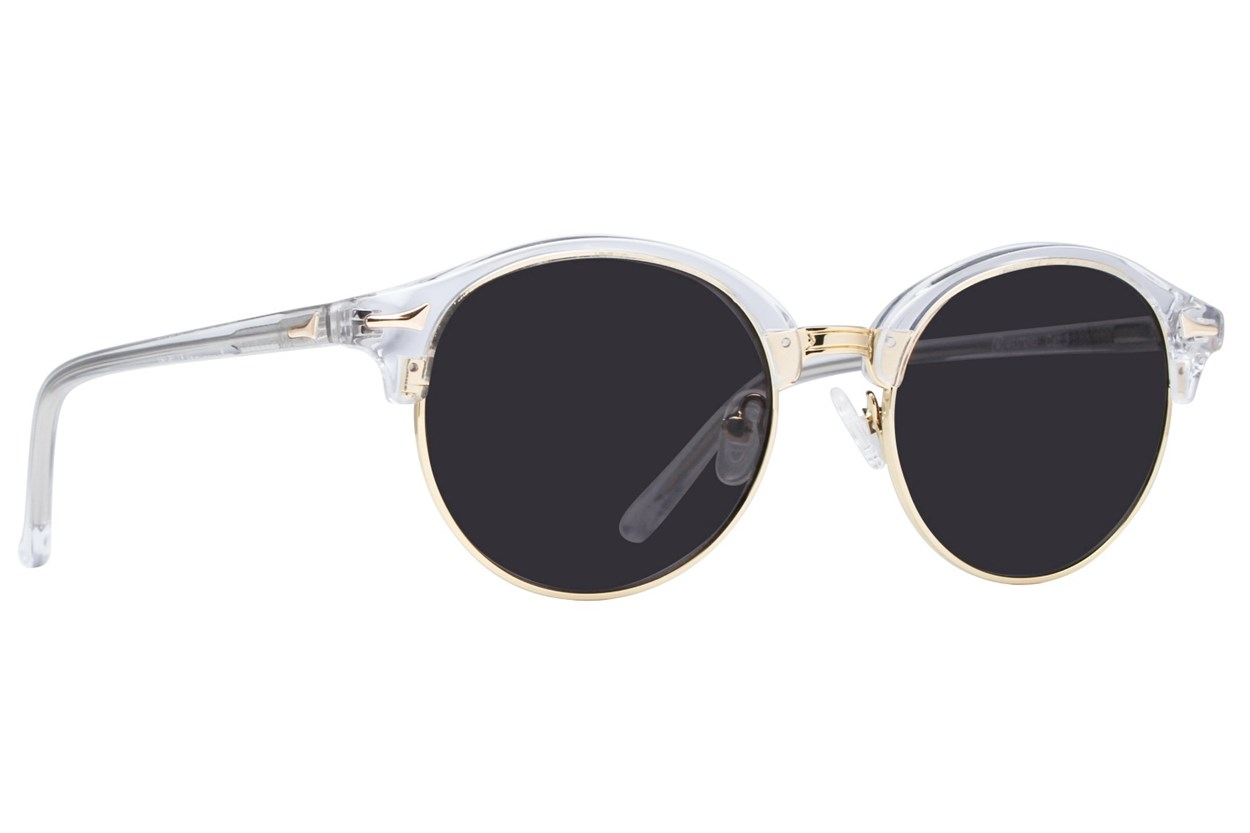 Westend German Village Clear Sunglasses