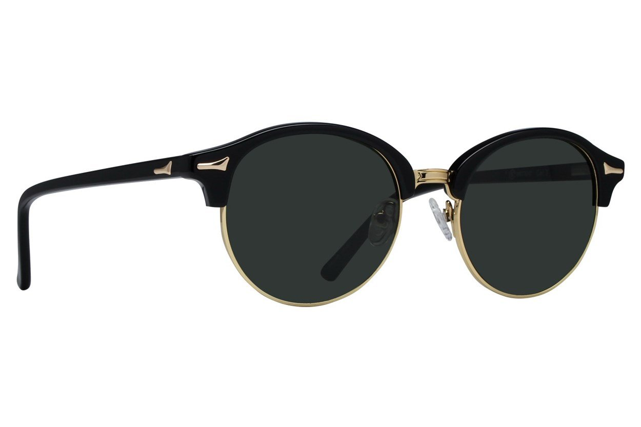 Westend German Village Black Sunglasses