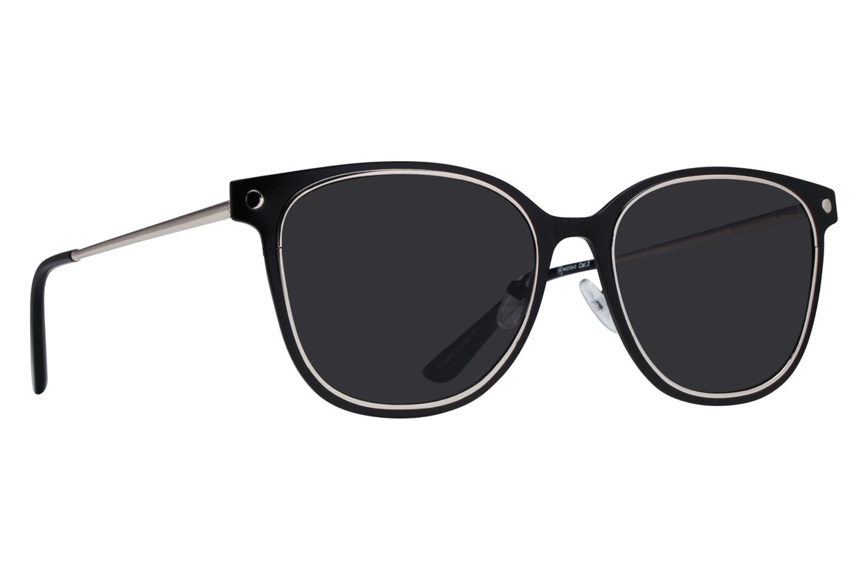 Westend Glacier Ridge Black Sunglasses