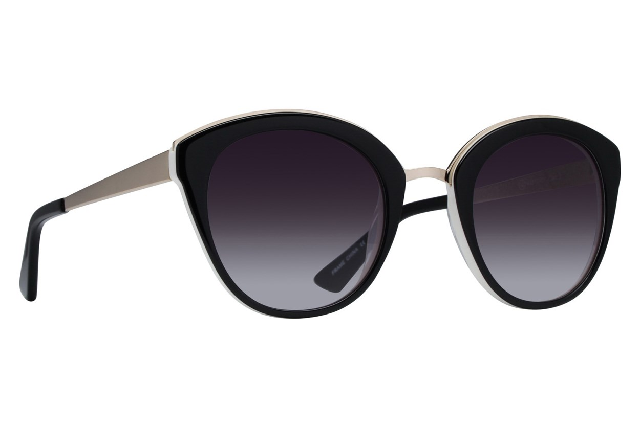 Westend New Albany Black Sunglasses