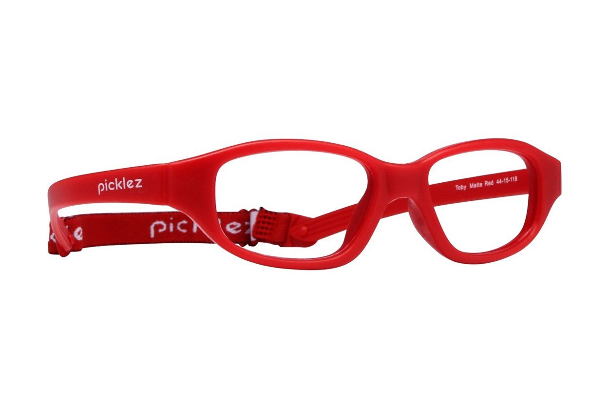 Picklez Toby Red Glasses