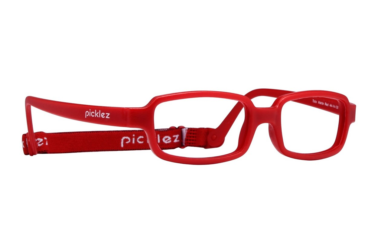 Picklez Toto Red Glasses